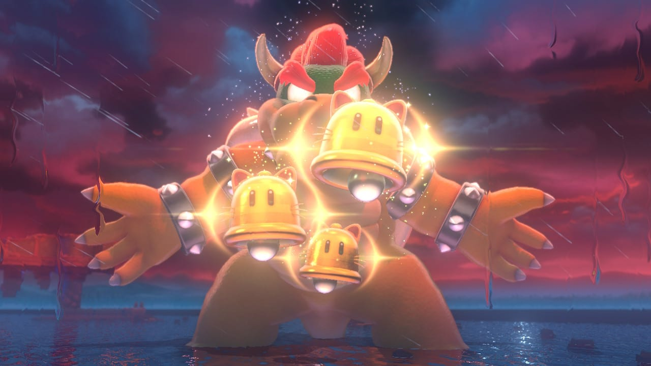 Bowsers Fury Super Mario 3D World Bowser Fight