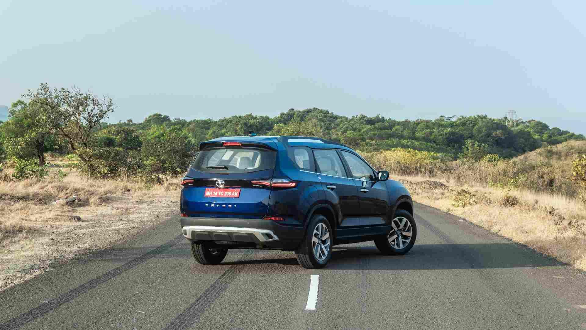 Le prix du nouveau Tata Safari devrait être compris entre 15,5 et 22 lakh (ex-showroom).  Image: Overdrive / Anis Shaikh