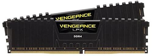 Corsair CMK16GX4M2B3200C16 Vengeance LPX 16 Go (2 x 8 Go) DDR4 3200 MHz C16 XMP 2.0 Module de mémoire hautes performances, noir