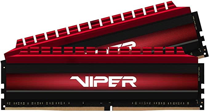 Module de mémoire Viper 4 PV48G300C6K DDR4 3000 MHz C16 XMP 2.0 haute performance rouge 8 Go (2x4 Go)