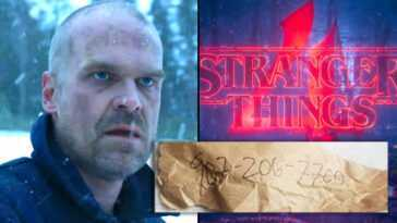 Stranger Things 4 Révèle Un Nouveau Numéro De Téléphone Mystérieux