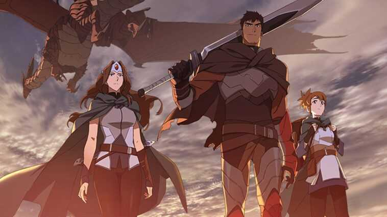 Dota 2: Netflix Annonce La Série Animée Dota: Dragon's Blood