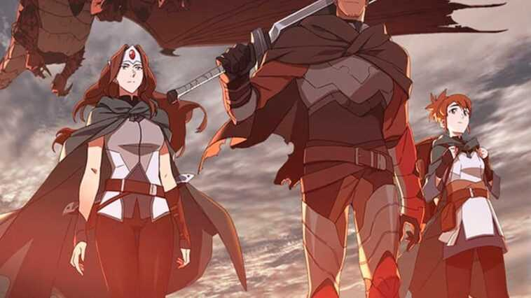 """Netflix annonce une nouvelle série animée """"DOTA: Dragon's Blood"""" s"""