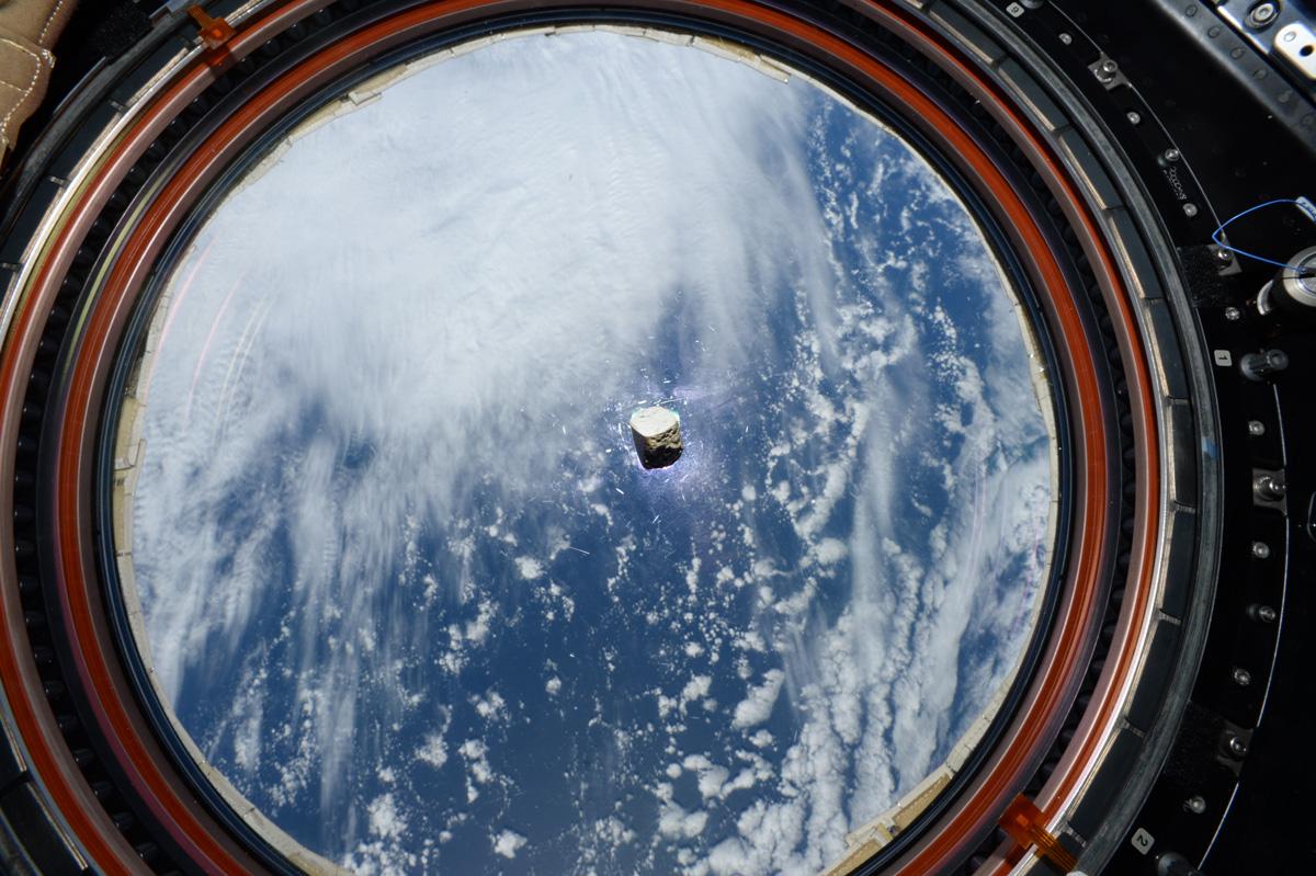 Les scientifiques ont inclus une tranche très spéciale de météorite martienne sur le laser géologique de Perseverance - la météorite avait voyagé jusqu'à l'ISS et en est revenue.