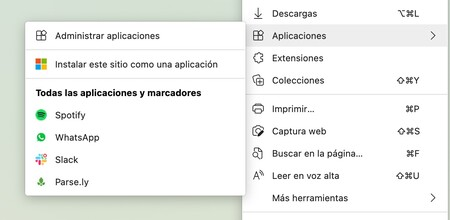 Installez l'application Edge