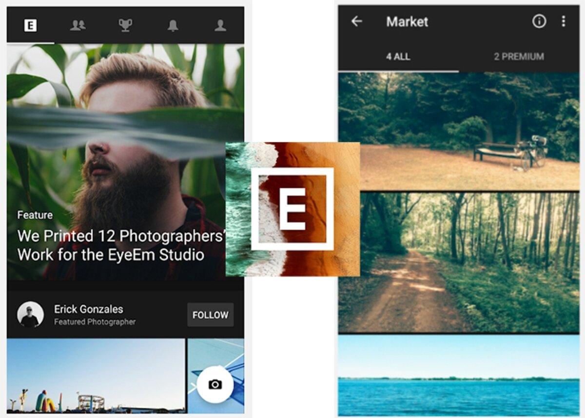 EyeEm alternative à Instagram