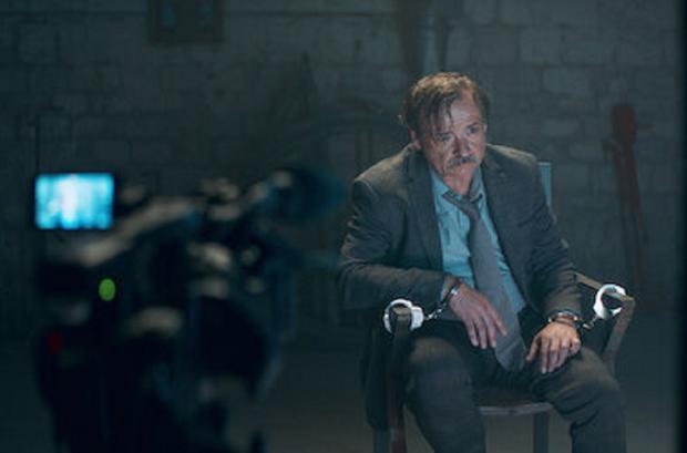 Dumont a avoué son alliance avec Hubert Pellegrini pour incriminer le père d'Assane (Photo: Netflix)