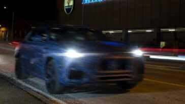Anti Porsche Macan. Maserati Grecale Anticipée Par Des Images Floues