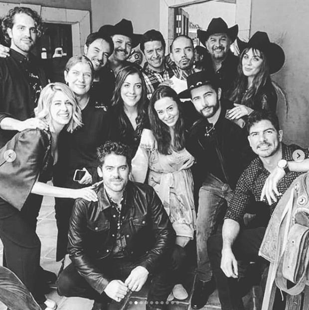"""Le casting de """"El Señor de los Cielos"""" dit au revoir sur les réseaux sociaux (Photo: Instagram)"""