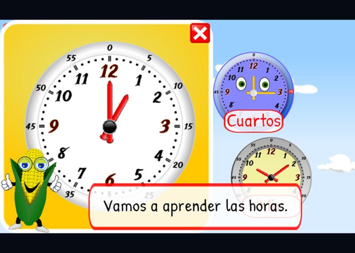 Apprenez les heures