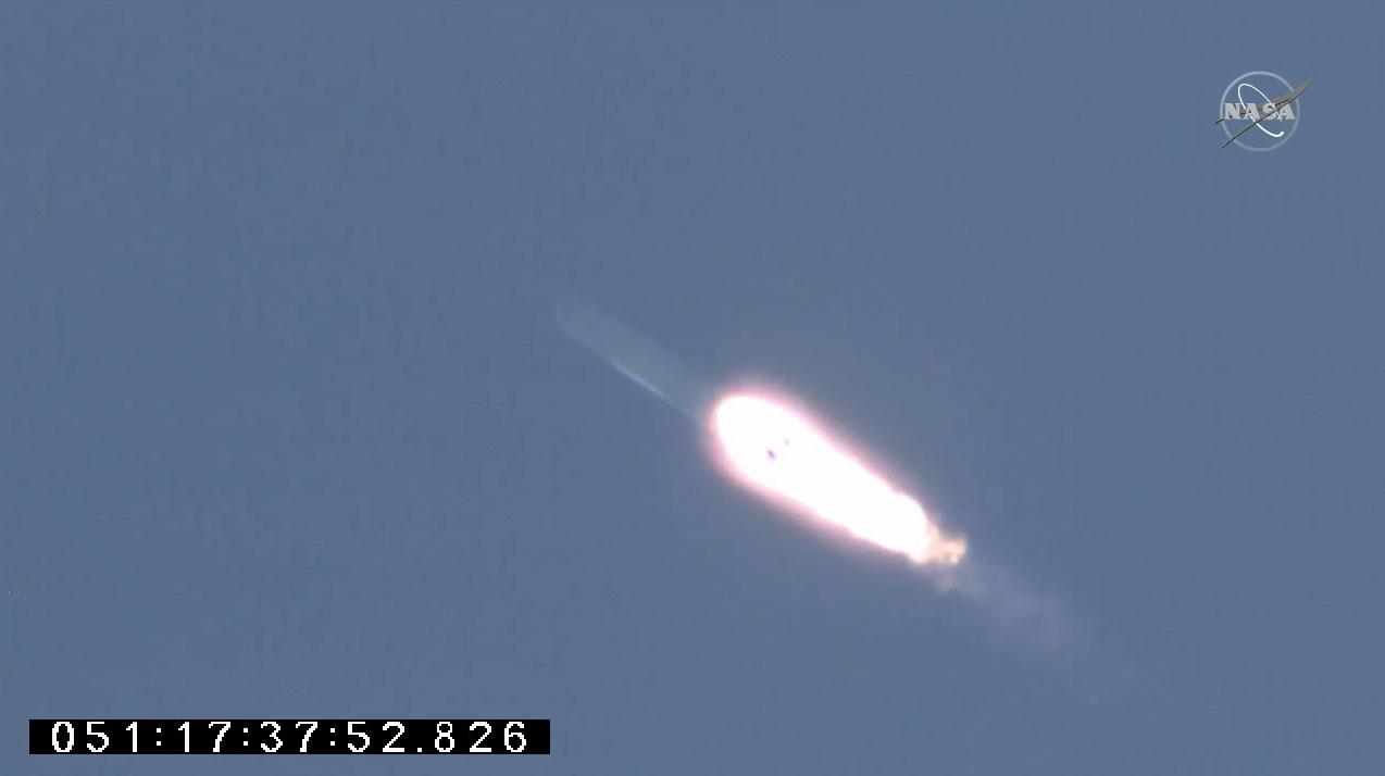 Une fusée Northrop Grumman Antares transportant le cargo Cygnus NG-15 non équipé est lancée à partir de la plate-forme 0A de l'installation de vol Wallops de la NASA sur Wallops Island, en Virginie, le 20 février 2021.