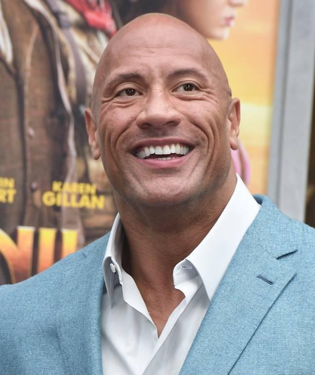 The Rock pourrait courir pour devenir le président américain.  Crédit: PA