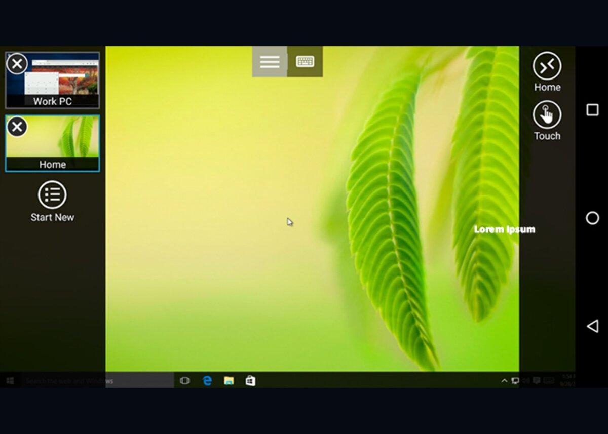 Remote Desktop 8 est un programme similaire à teamviewer