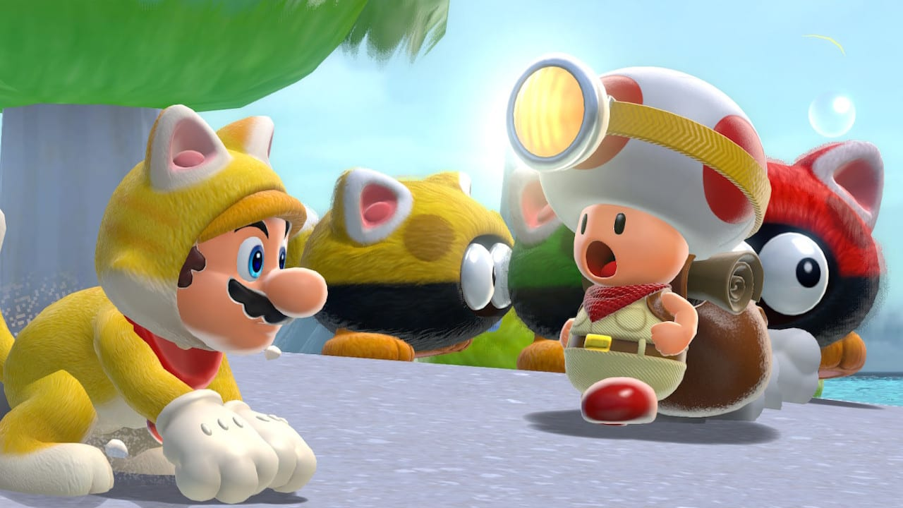 Super Mario 3D World Toad Brigade Bowse'rs Fury