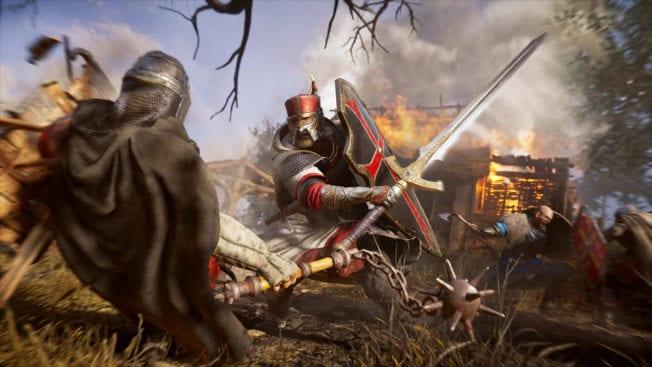Assassin's Creed Valhalla Armor Sword Saint George