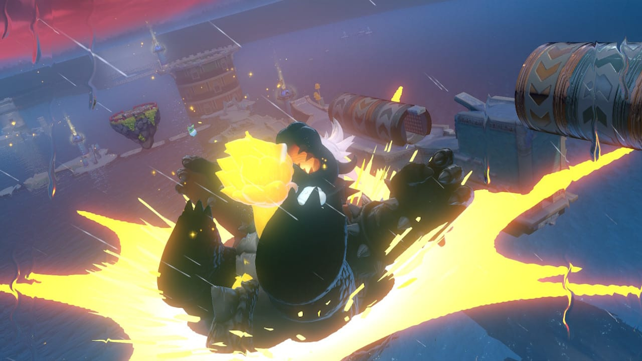 Super Mario 3D World Bowser Fury Fury Bowser