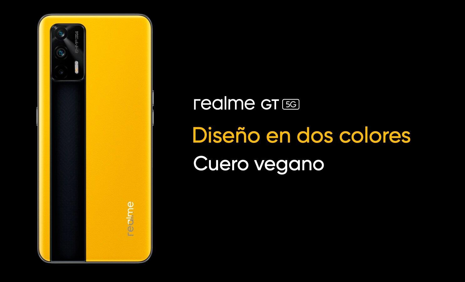 realme GT 5G jaune