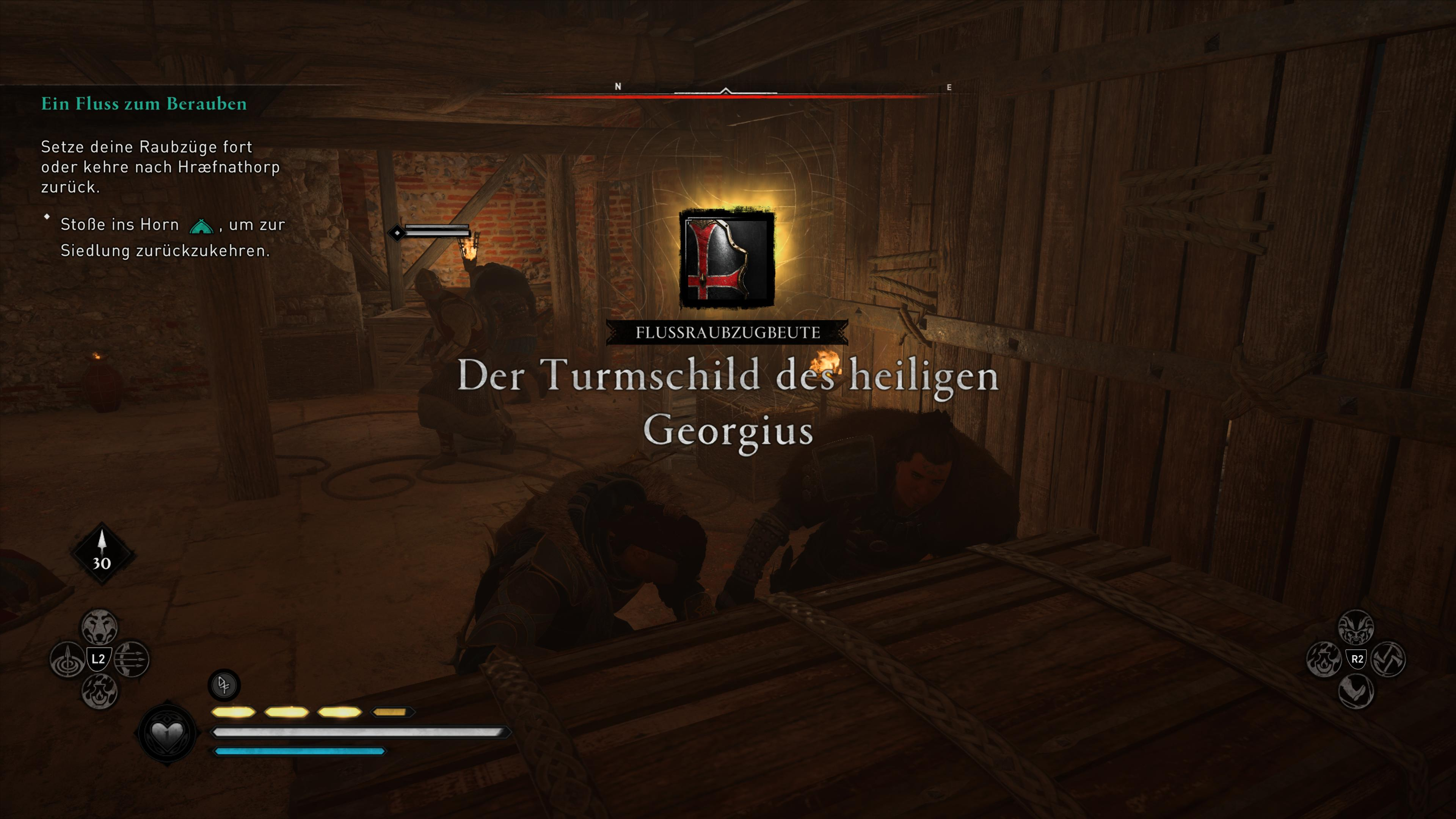 Assassin's Creed Valhalla Shield Georgius