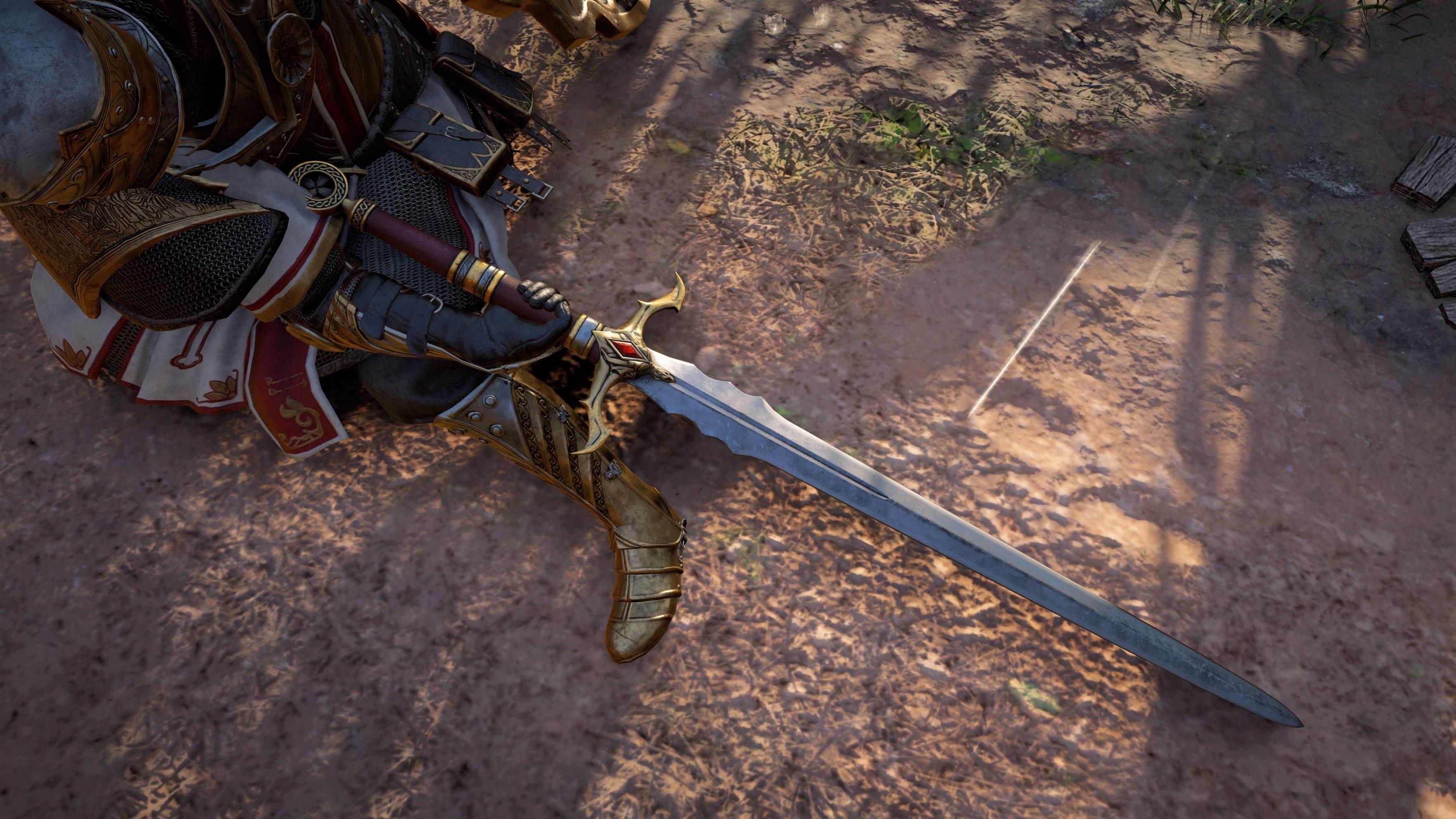Assassin's Creed Valhalla Épée de Saint George