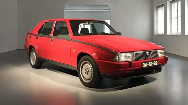 Alfa Romeo 75 Turbo Renforce La Collection Du Museu Do