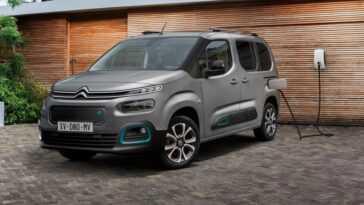 Citroën ë Berlingo. La Version Passager A également été électrifiée
