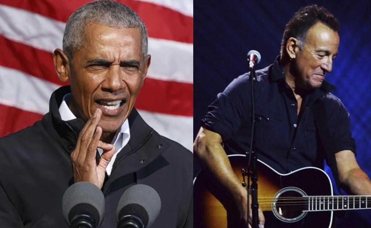 Barack Obama rejoint Bruce Springsteen dans un nouveau podcast