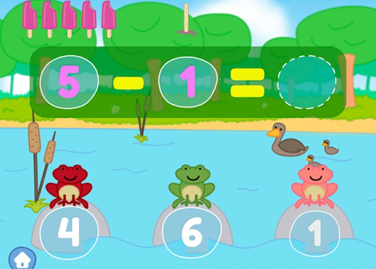 Jeux éducatifs App apprendre les nombres