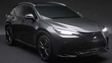 Vidéo Officielle Du Nouveau Lexus Nx Révélée Accidentellement