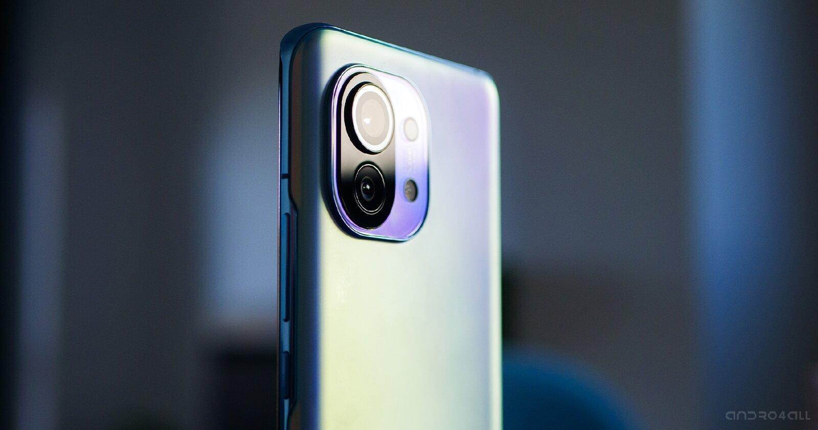 Les caméras du Xiaomi Mi 11