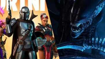 """Le nouveau portail Fortnite suggère un croisement avec """"Alien"""""""