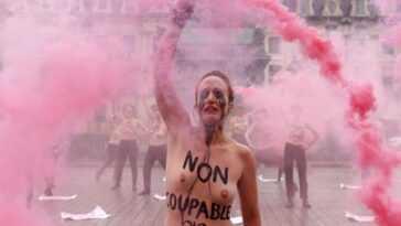 Deux Militantes Femen Condamnées Pour «exhibition Sexuelle» Sont Acquittées En
