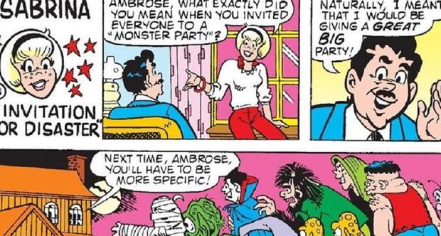 """Voici à quoi ressemble Ambrose dans les bandes dessinées """"Sabrina"""