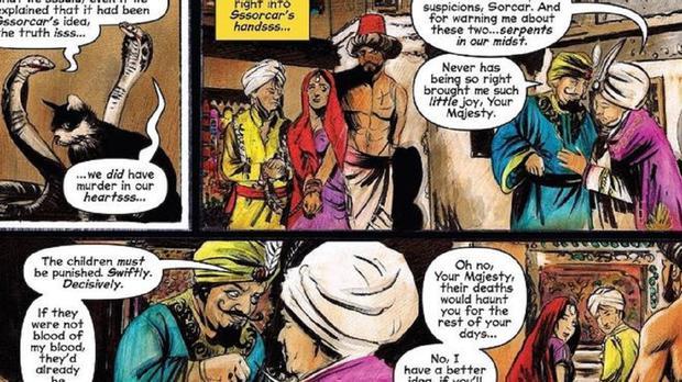 L'histoire de Nag et Nagaiana dans les bandes dessinées (Photo: Archie Horror)
