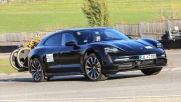 Taycan Cross Turismo. Porsche Dévoile Les Dernières étapes Du Programme