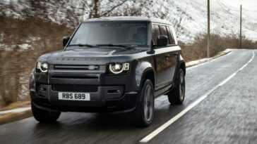 Le Plus Puissant De La Gamme. Land Rover Defender Reçoit