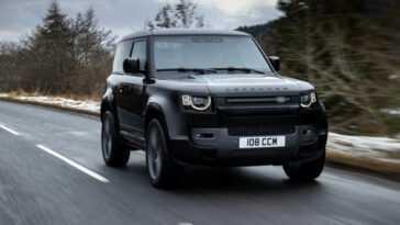 Un V8 Et 525 Chevaux Pour Le Land Rover Defender