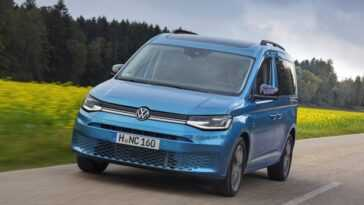 Basé Sur Le Golf. Volkswagen Caddy Mpv Est L'alternative Aux
