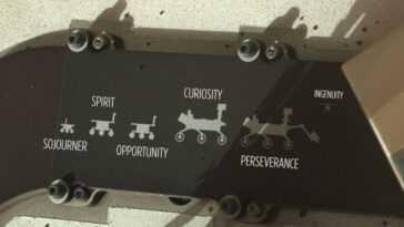 Le Rover Perseverance De La Nasa Sur Mars Porte Un