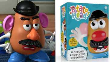 Hasbro Est Une Version Non Sexiste De Mr Potato Head