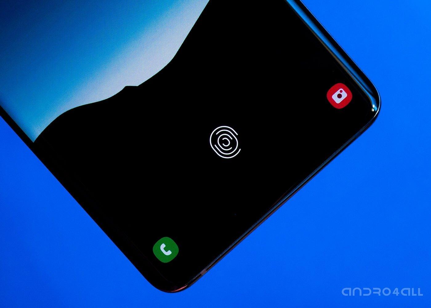 Lecteur d'empreintes digitales à ultrasons pour Samsung Galaxy S10 Plus