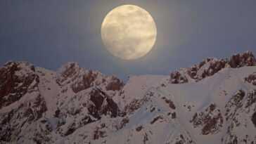 Pleine Lune De Février 2021: Découvrez La `` Lune De