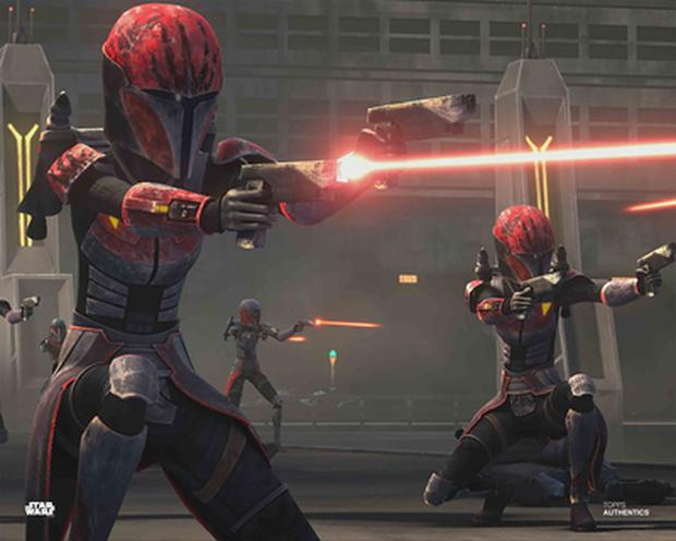 Rook Kast combattant dans la guerre des clones (Photo: Lucasfilm)