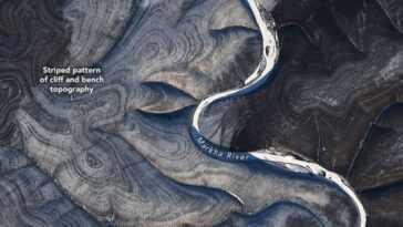 Des Rayures Mystérieuses Repérées Sur La Russie Sur Les Images