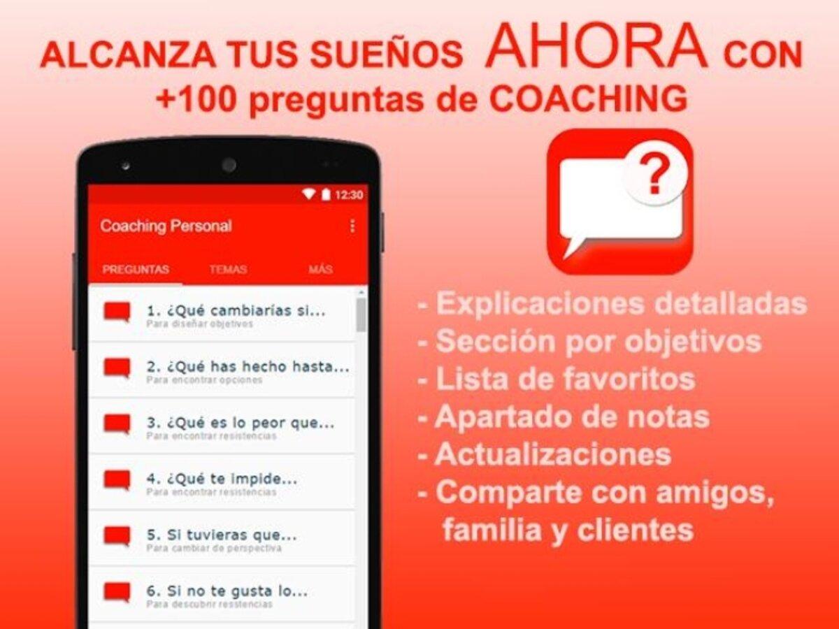 Application de coaching personnel