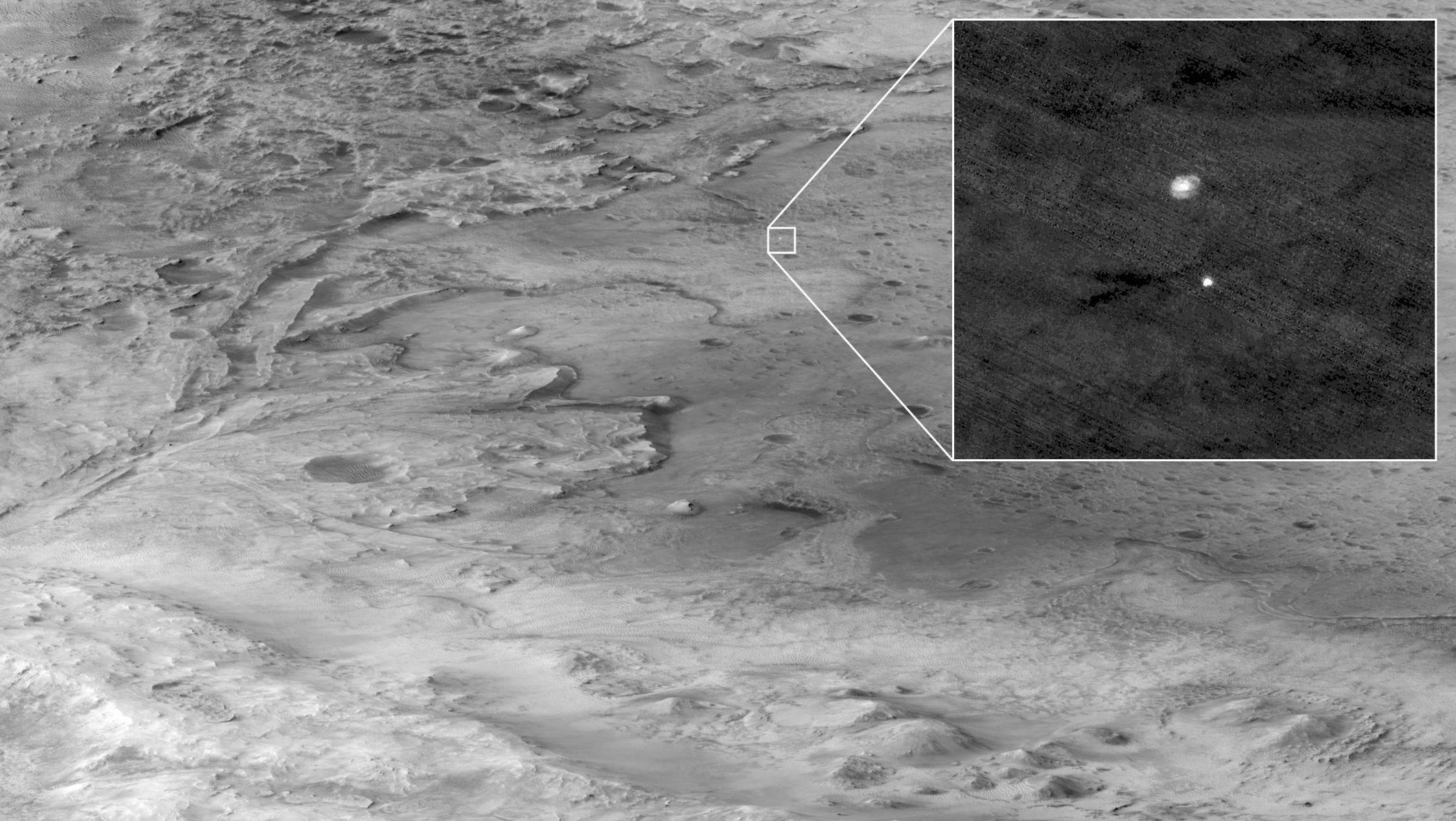 rover persévérance mars 2020
