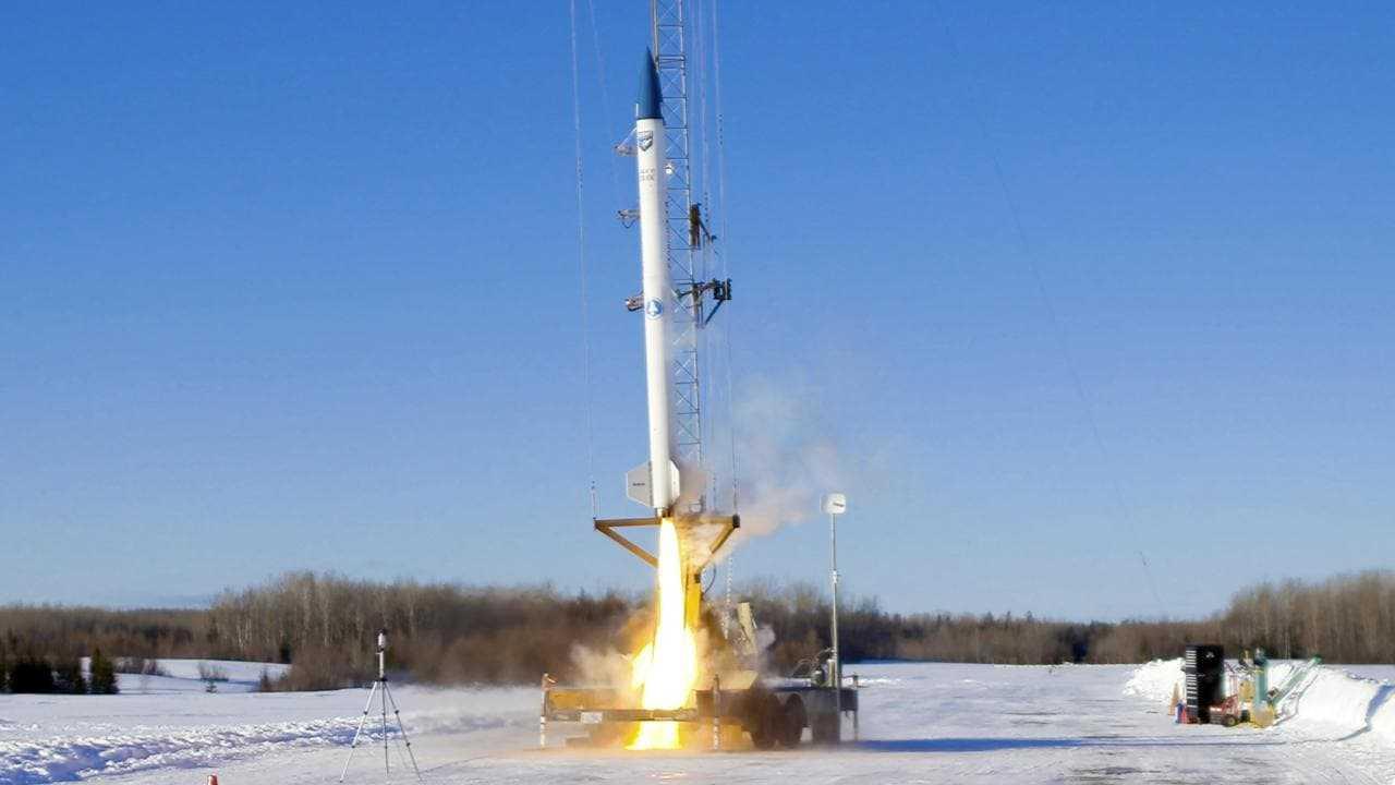 BluShift Aerospace, basé dans le Maine, lance avec succès un prototype de fusée en vol d'essai
