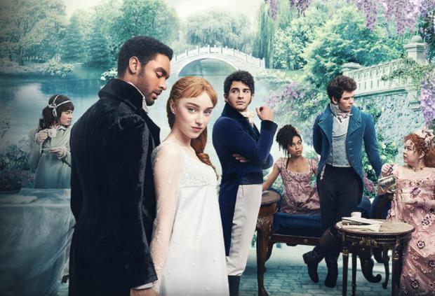"""Tous les personnages de """"Bridgerton"""" ont un costume et une couleur qui signifient quelque chose (Photo: Netflix)"""