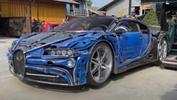 Cette Bugatti Chiron à Bas Prix A été Fabriquée à