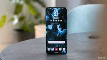 Samsung Galaxy S21 Ultra, écran d'accueil
