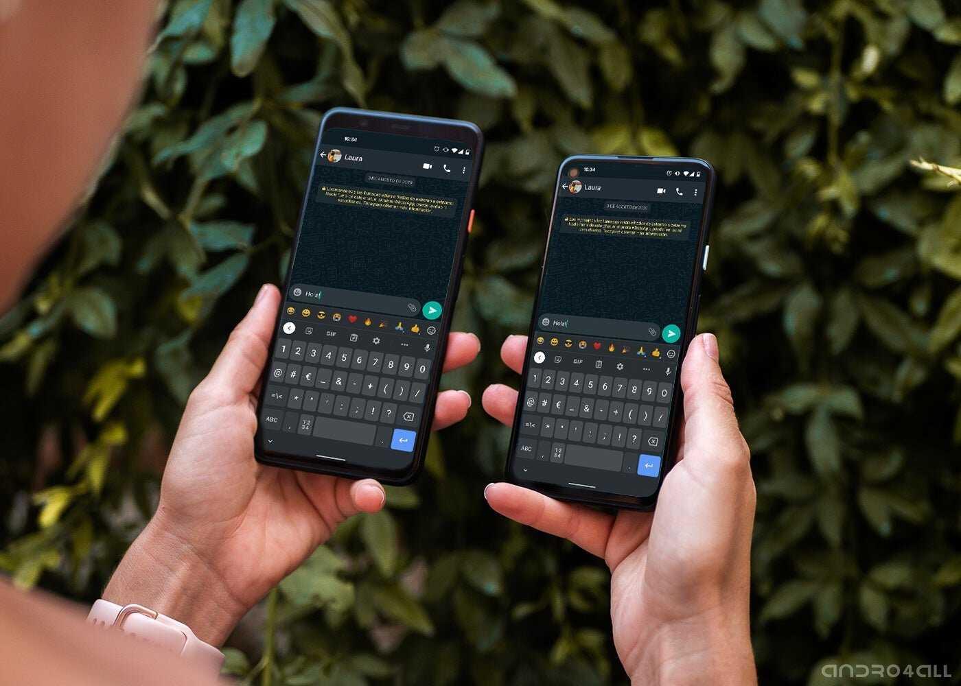 Utilisez le même WhatsApp sur deux téléphones